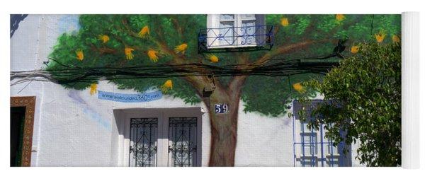 Tree House In Spain Yoga Mat