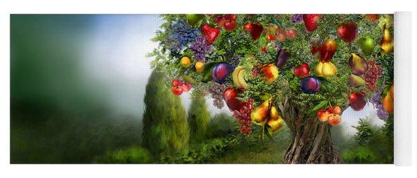 Tree Of Abundance Yoga Mat