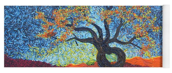 Tree Of Heart Yoga Mat