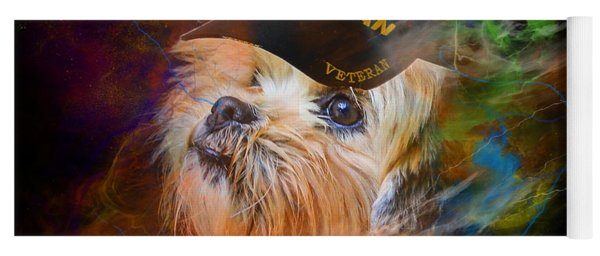 Tribute To Canine Veterans Yoga Mat