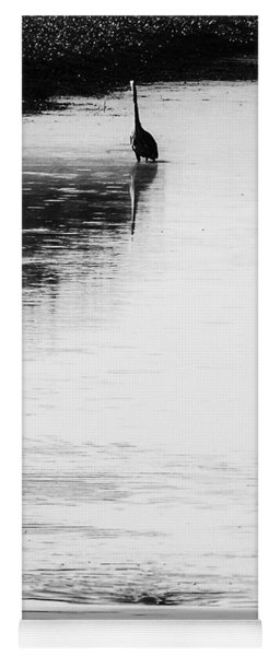 Yoga Mat featuring the photograph Trilogy - Black And White by Belinda Greb
