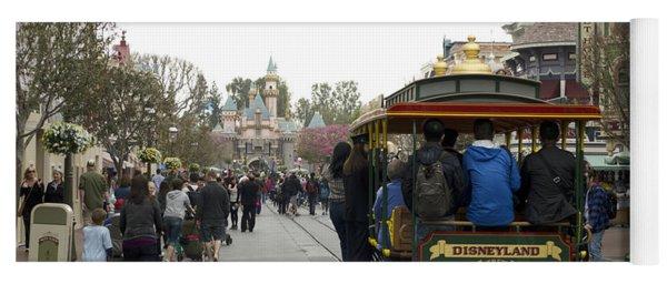 Trolley Car Main Street Disneyland 03 Yoga Mat
