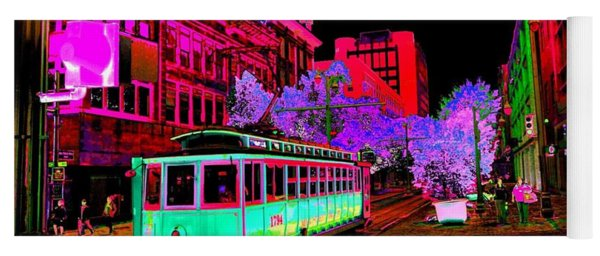 Trolley Night Yoga Mat