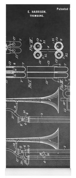 Trombone Design Yoga Mat