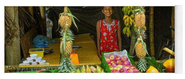 Tropical Fruit Shop Yoga Mat