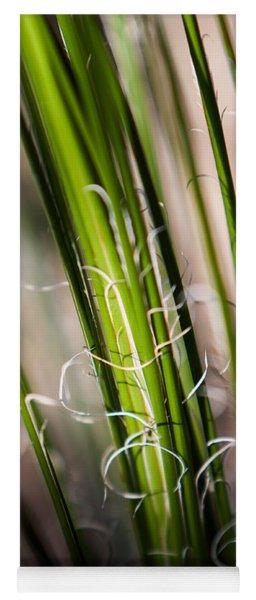 Yoga Mat featuring the photograph Tropical Grass by John Wadleigh