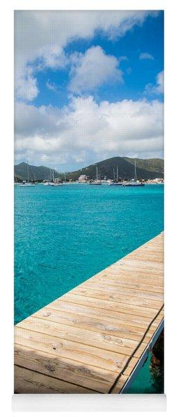 Tropical Harbor Yoga Mat