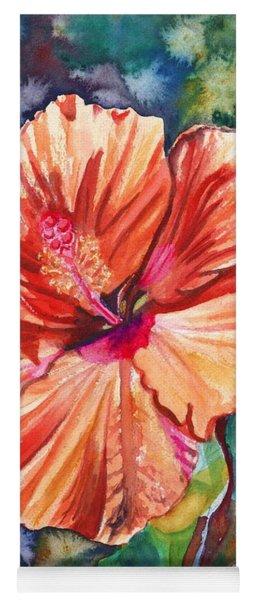 Tropical Hibiscus 5 Yoga Mat