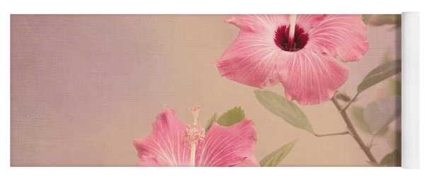Tropical Hibiscus Yoga Mat
