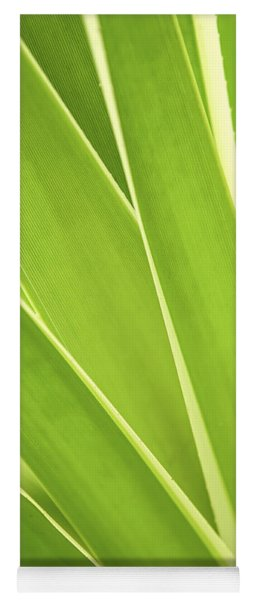 Tropical Leaves Yoga Mat