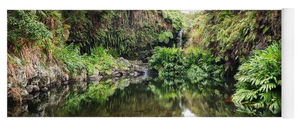 Tropical Reflections Yoga Mat