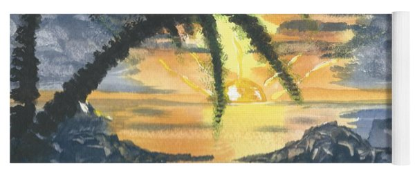Tropical Sun Yoga Mat
