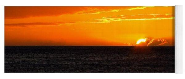 Tropical Sunset Yoga Mat