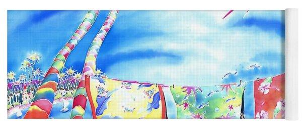 Tropical Wind Yoga Mat