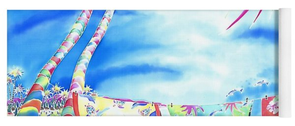 Tropical Wind Yoga Mat