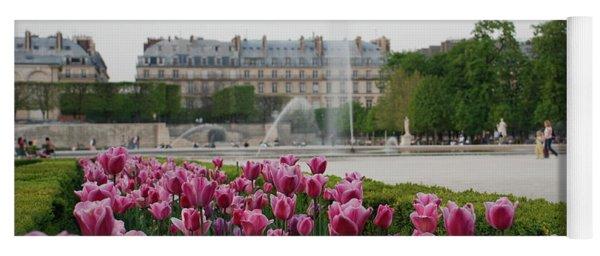 Tuileries Garden In Bloom Yoga Mat