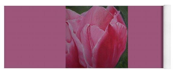 Tulip Blooming Yoga Mat