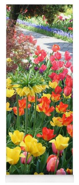 Tulip Path Yoga Mat