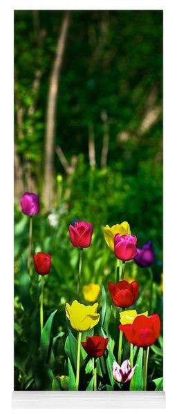 Tulip Rainbow Yoga Mat