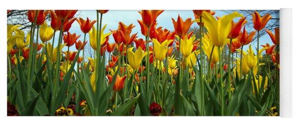 Tulip Time Yoga Mat