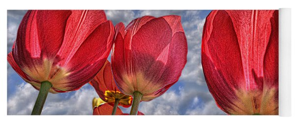 Tulips Are Better Than One Yoga Mat