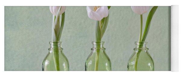 Tulips In A Bottle Yoga Mat