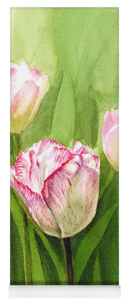 Tulips In The Fog Yoga Mat