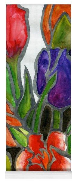Tulips Yoga Mat