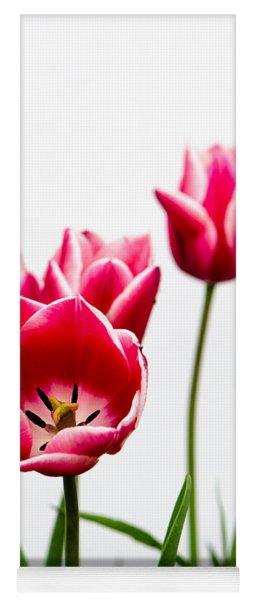 Tulips Say Hello Yoga Mat