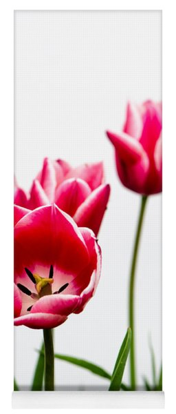 Tulips Say Hello Yoga Mat