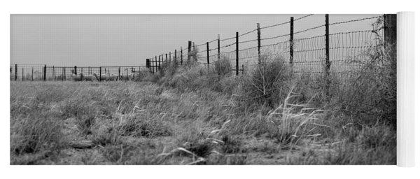 Tumbleweed Fences And Sheep Yoga Mat