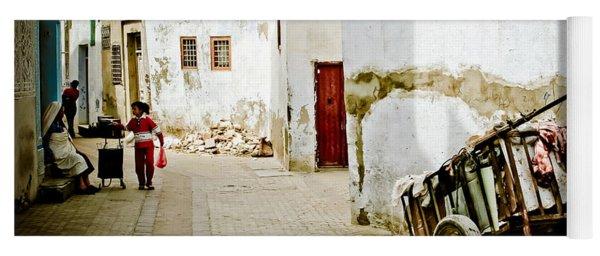 Yoga Mat featuring the photograph Tunisian Girl by John Wadleigh