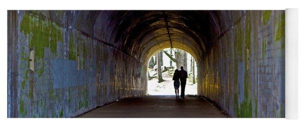 Tunnel Of Love Yoga Mat