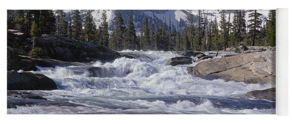 6m6539-tuolumne River  Yoga Mat