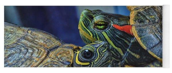 Turtle Blues Yoga Mat