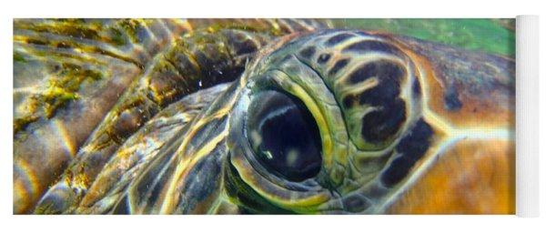 Turtle Eye Yoga Mat