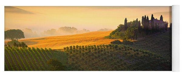 Tuscan Dawn Yoga Mat