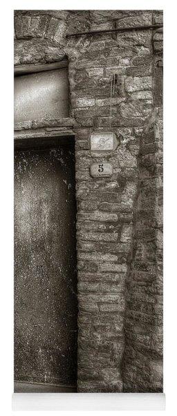 Tuscan Doorway Yoga Mat