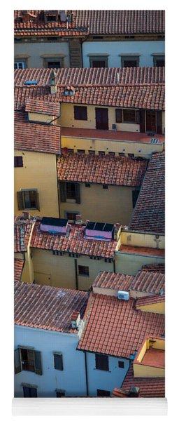 Tuscan Rooftops Yoga Mat