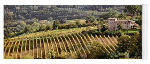 Tuscan Valley Yoga Mat