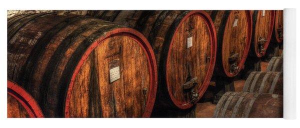Tuscan Wine Cellar Yoga Mat