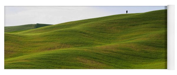 Tuscany Landscape Yoga Mat