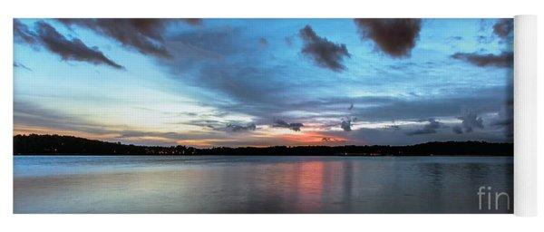 Twilight On Lake Lanier Yoga Mat
