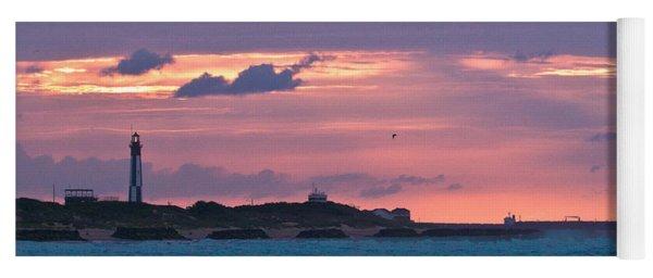 Twilight Over Cape Henry Yoga Mat