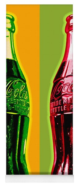 Two Coke Bottles Yoga Mat