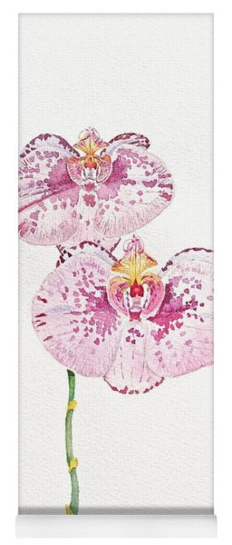 Two Orchids Yoga Mat