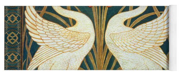 Two Swans Yoga Mat