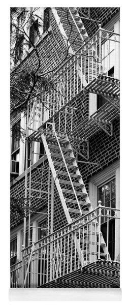 Typical Building Of Brooklyn Heights - Brooklyn - New York City Yoga Mat