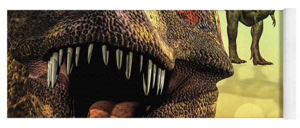 Tyrannosaurus Rex 4 Yoga Mat