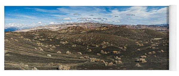 Ubehebe Lava Fields, Ubehebe Crater Yoga Mat